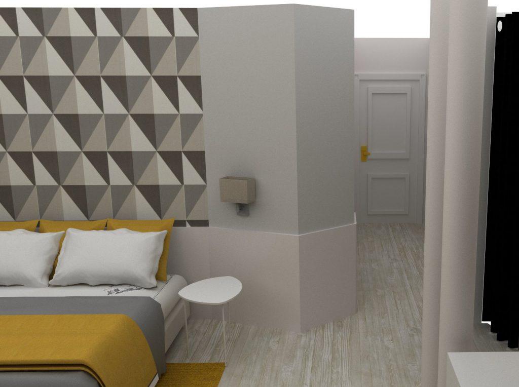 Propuesta habitaciones SILKEN RIO Santander. Mara Pardo Estudio Interiorismo